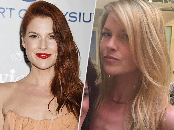 Ali Larter is blonde